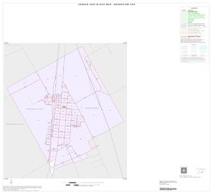 Primary view of object titled '2000 Census County Subdivison Block Map: Grandview CCD, Texas, Inset A01'.
