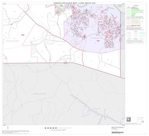 Primary view of object titled '2000 Census County Subdivison Block Map: Llano South CCD, Texas, Block 12'.