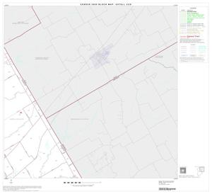 Primary view of object titled '2000 Census County Subdivison Block Map: Axtell CCD, Texas, Block 2'.