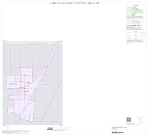 Primary view of object titled '2000 Census County Subdivison Block Map: Pilot Point-Aubrey CCD, Texas, Inset B01'.