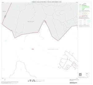 Primary view of object titled '2000 Census County Subdivison Block Map: Travis Northwest CCD, Texas, Block 2'.