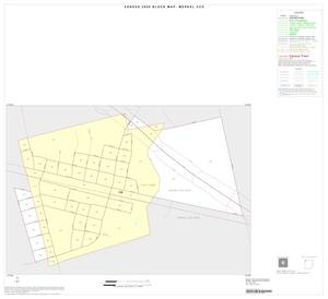 Primary view of object titled '2000 Census County Subdivison Block Map: Merkel CCD, Texas, Inset A01'.
