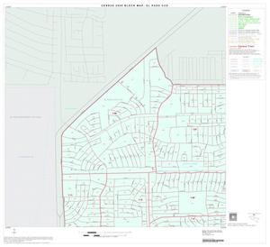 Primary view of object titled '2000 Census County Subdivison Block Map: El Paso CCD, Texas, Block 1'.