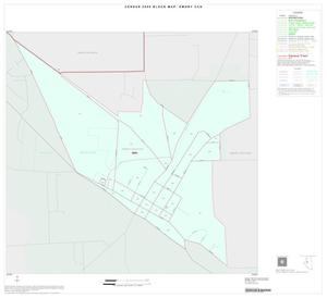 Primary view of object titled '2000 Census County Subdivison Block Map: Emory CCD, Texas, Inset A01'.
