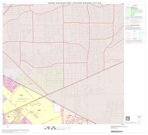 Primary view of object titled '2000 Census County Subdivison Block Map: Stafford-Missouri City CCD, Texas, Block 2'.