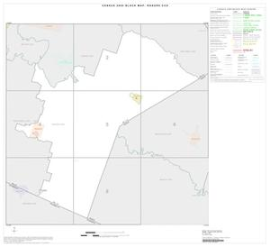 Primary view of object titled '2000 Census County Subdivison Block Map: Rogers CCD, Texas, Index'.
