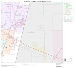 Primary view of object titled '2000 Census County Subdivison Block Map: Stafford-Missouri City CCD, Texas, Block 8'.