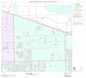 Primary view of object titled '2000 Census County Subdivison Block Map: Southeast Harris CCD, Texas, Block 5'.