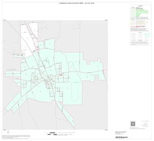Primary view of object titled '2000 Census County Subdivison Block Map: Alto CCD, Texas, Inset A01'.