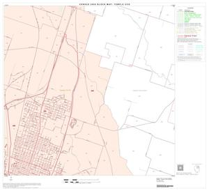 Primary view of object titled '2000 Census County Subdivison Block Map: Temple CCD, Texas, Block 7'.
