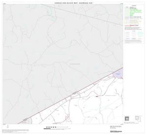 Primary view of object titled '2000 Census County Subdivison Block Map: Oakwood CCD, Texas, Block 1'.