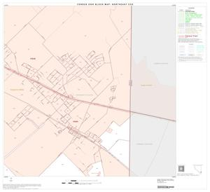 Primary view of object titled '2000 Census County Subdivison Block Map: Northeast CCD, Texas, Block 55'.