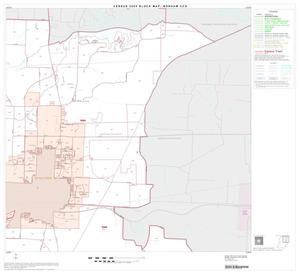 Primary view of object titled '2000 Census County Subdivison Block Map: Bonham CCD, Texas, Block 2'.