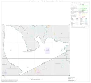 Primary view of object titled '2000 Census County Subdivison Block Map: Shepherd-Evergreen CCD, Texas, Index'.