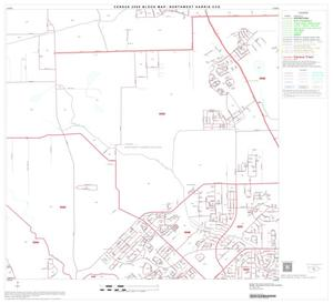 Primary view of object titled '2000 Census County Subdivison Block Map: Northwest Harris CCD, Texas, Block 19'.