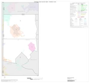 Primary view of object titled '2000 Census County Subdivison Block Map: Forney CCD, Texas, Index'.