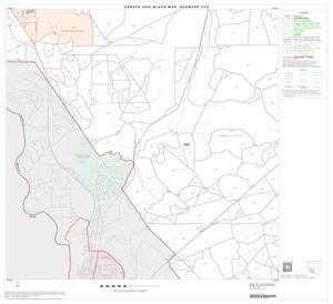 Primary view of object titled '2000 Census County Subdivison Block Map: Quemado CCD, Texas, Block 10'.