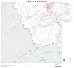 Primary view of object titled '2000 Census County Subdivison Block Map: Vanderbilt CCD, Texas, Block 5'.