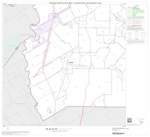 Primary view of object titled '2000 Census County Subdivison Block Map: Guadalupe Southwest CCD, Texas, Block 4'.