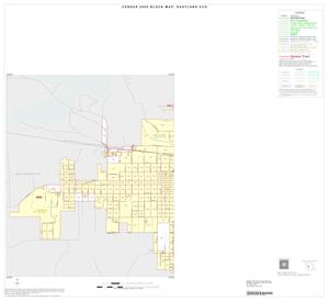 Primary view of object titled '2000 Census County Subdivison Block Map: Eastland CCD, Texas, Inset A01'.