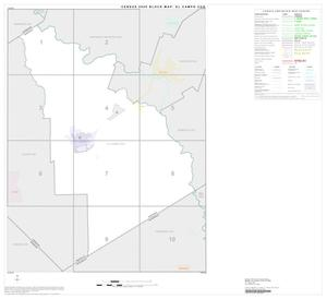 Primary view of object titled '2000 Census County Subdivison Block Map: El Campo CCD, Texas, Index'.