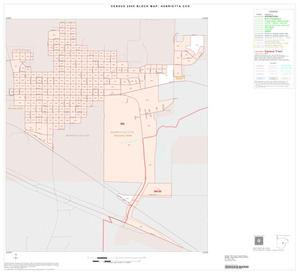 Primary view of object titled '2000 Census County Subdivison Block Map: Henrietta CCD, Texas, Inset B01'.