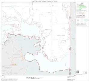Primary view of object titled '2000 Census County Subdivison Block Map: Marion East CCD, Texas, Block 6'.