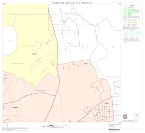 Primary view of object titled '2000 Census County Subdivison Block Map: San Antonio CCD, Texas, Block 17'.