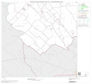 Primary view of object titled '2000 Census County Subdivison Block Map: Gay Hill-Independence CCD, Texas, Block 3'.