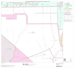 Primary view of object titled '2000 Census County Subdivison Block Map: Southeast Harris CCD, Texas, Block 8'.