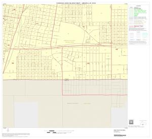 Primary view of object titled '2000 Census County Subdivison Block Map: Amarillo CCD, Texas, Block 26'.
