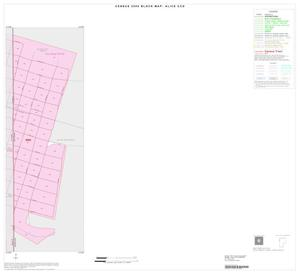 Primary view of object titled '2000 Census County Subdivison Block Map: Alice CCD, Texas, Inset A01'.