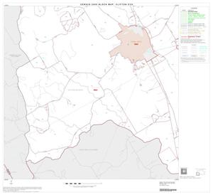 Primary view of object titled '2000 Census County Subdivison Block Map: Clifton CCD, Texas, Block 4'.