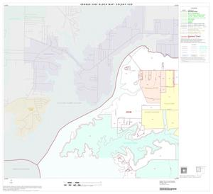 Primary view of object titled '2000 Census County Subdivison Block Map: Colony CCD, Texas, Block 1'.