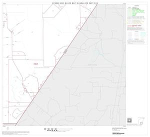 Primary view of object titled '2000 Census County Subdivison Block Map: Guadalupe East CCD, Texas, Block 8'.