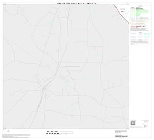 Primary view of object titled '2000 Census County Subdivison Block Map: Atlanta CCD, Texas, Block 10'.