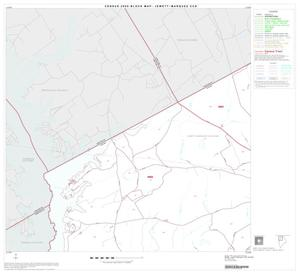 Primary view of object titled '2000 Census County Subdivison Block Map: Jewett-Marquez CCD, Texas, Block 1'.