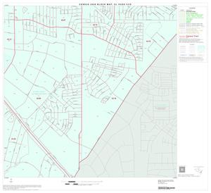 Primary view of object titled '2000 Census County Subdivison Block Map: El Paso CCD, Texas, Block 36'.