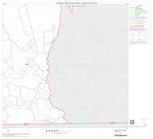 Primary view of object titled '2000 Census County Subdivison Block Map: Charlotte CCD, Texas, Block 6'.