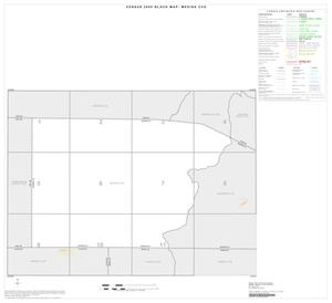 Primary view of object titled '2000 Census County Subdivison Block Map: Medina CCD, Texas, Index'.