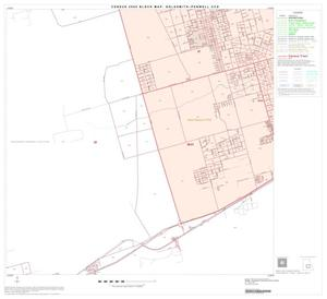 Primary view of object titled '2000 Census County Subdivison Block Map: Goldsmith-Penwell CCD, Texas, Block 8'.