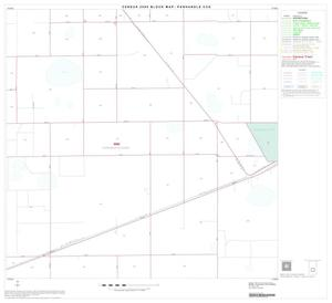 Primary view of object titled '2000 Census County Subdivison Block Map: Panhandle CCD, Texas, Block 8'.