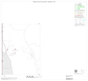 Primary view of object titled '2000 Census County Subdivison Block Map: Comfort CCD, Texas, Inset A03'.
