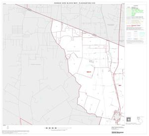 Primary view of object titled '2000 Census County Subdivison Block Map: Pleasanton CCD, Texas, Block 1'.