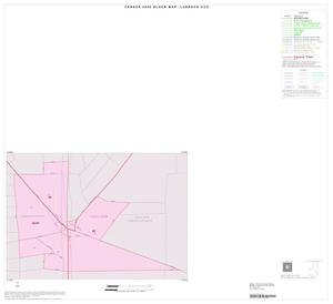 Primary view of object titled '2000 Census County Subdivison Block Map: Lubbock CCD, Texas, Inset E01'.