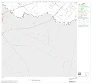 Primary view of object titled '2000 Census County Subdivison Block Map: Barstow-Pyote CCD, Texas, Block 10'.