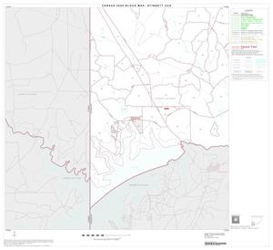 Primary view of object titled '2000 Census County Subdivison Block Map: Stinnett CCD, Texas, Block 9'.