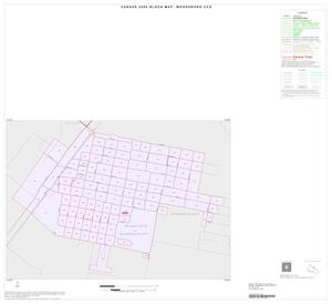 Primary view of object titled '2000 Census County Subdivison Block Map: Woodsboro CCD, Texas, Inset A01'.