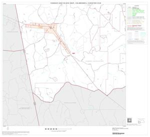 Primary view of object titled '2000 Census County Subdivison Block Map: Colmesneil-Chester CCD, Texas, Block 4'.