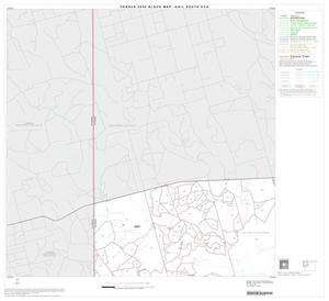 Primary view of object titled '2000 Census County Subdivison Block Map: Gail South CCD, Texas, Block 1'.